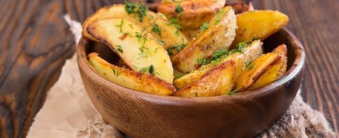Kräuter-Kartoffeln mit Dill und Petersilie