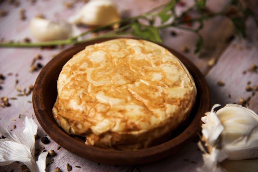 Klassische Tortilla spanischer Art