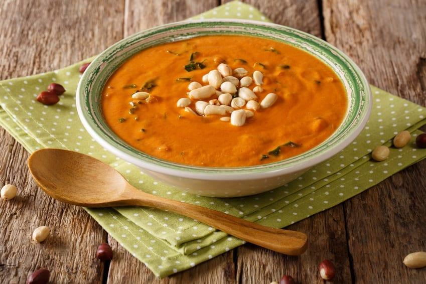 Lieblingsessen Südamerikanische Erdnuss-Suppe